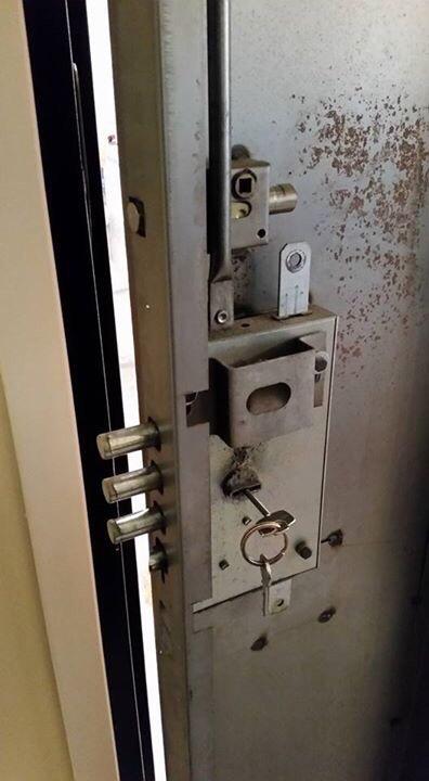 Повреда в ключалката - авариен ключар