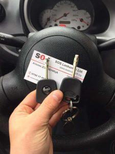 Изработка и обучение на ключ за Ford Fiesta