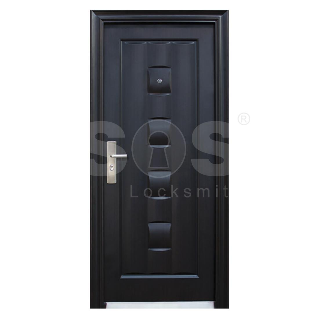 Входни врати – Обикновени метални врати